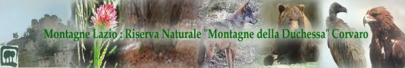 Montagne Duchessa: Riserva Naturale del Lazio - Logo